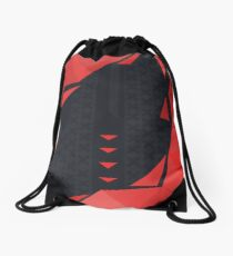 CSGO | Black & Red Poly Pattern Drawstring Bag