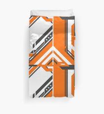 CSGO | Black & Orange v2 Duvet Cover