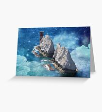 End of the World - The Needles, Isle of Wight Greeting Card