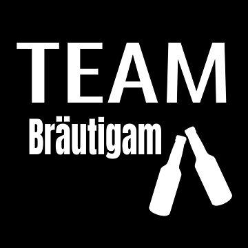 Polterabend JGA Design für das Team Crew Bräutigam by micha75muc