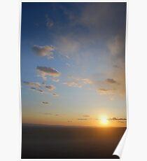 Sunset on the I.E.-Rancho Cucamonga, Ca Poster