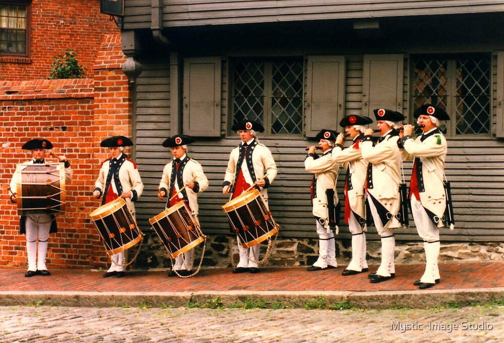 Martial Music at Revere's House by OntheroadImage
