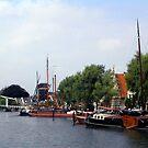 Along the Oude Singel by OntheroadImage
