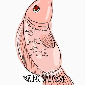 REAL MEN wear salmon by DaineDarnalei