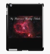 My Heart is a Beating Nebula iPad Case/Skin