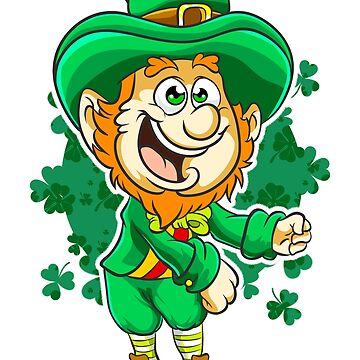 Flossing Leprechaun St. Patrick's by frittata