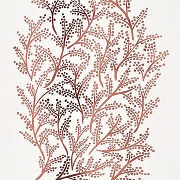Branches – Rose Gold Palette by catcoq