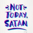 Nicht heute, Satan - Cyan & Magenta Palette von Cat Coquillette