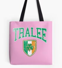 Tralee, Ireland with Shamrock Tote Bag