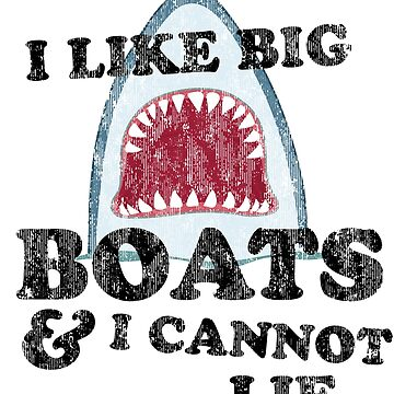 Sharks like big boats by artack