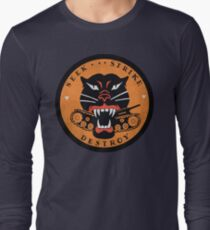 Seek Strike Destroy Tank Destroyer Emblem Long Sleeve T-Shirt