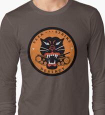 Seek Strike Destroy Tank Destroyer Emblem Long Sleeve T-Shirt