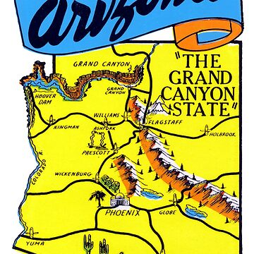 1960s Arizona, The Grand Canyon State by historicimage