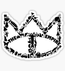 Cat Empire Collage Logo Sticker