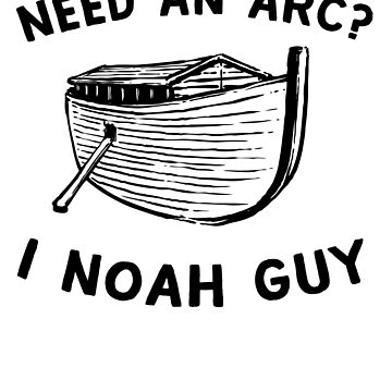 I Noah guy with an arc by artack