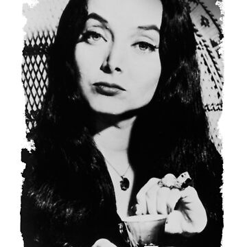 Morticia Addams - The Addams Family by EllieTheZombie