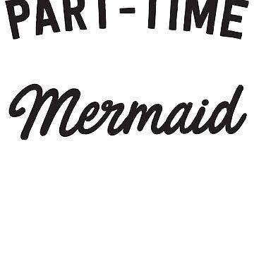 Part-time mermaid by artack