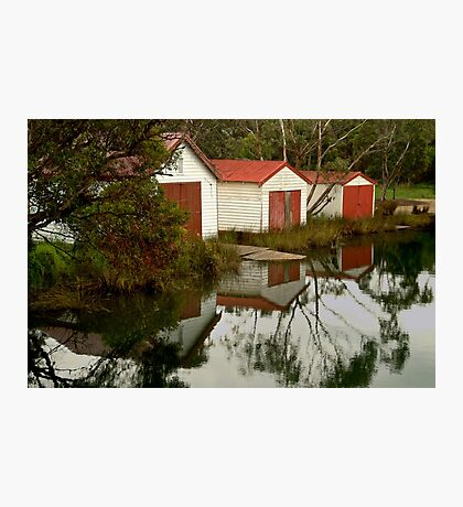 Anglesea Boat Sheds,Great Ocean Road Photographic Print