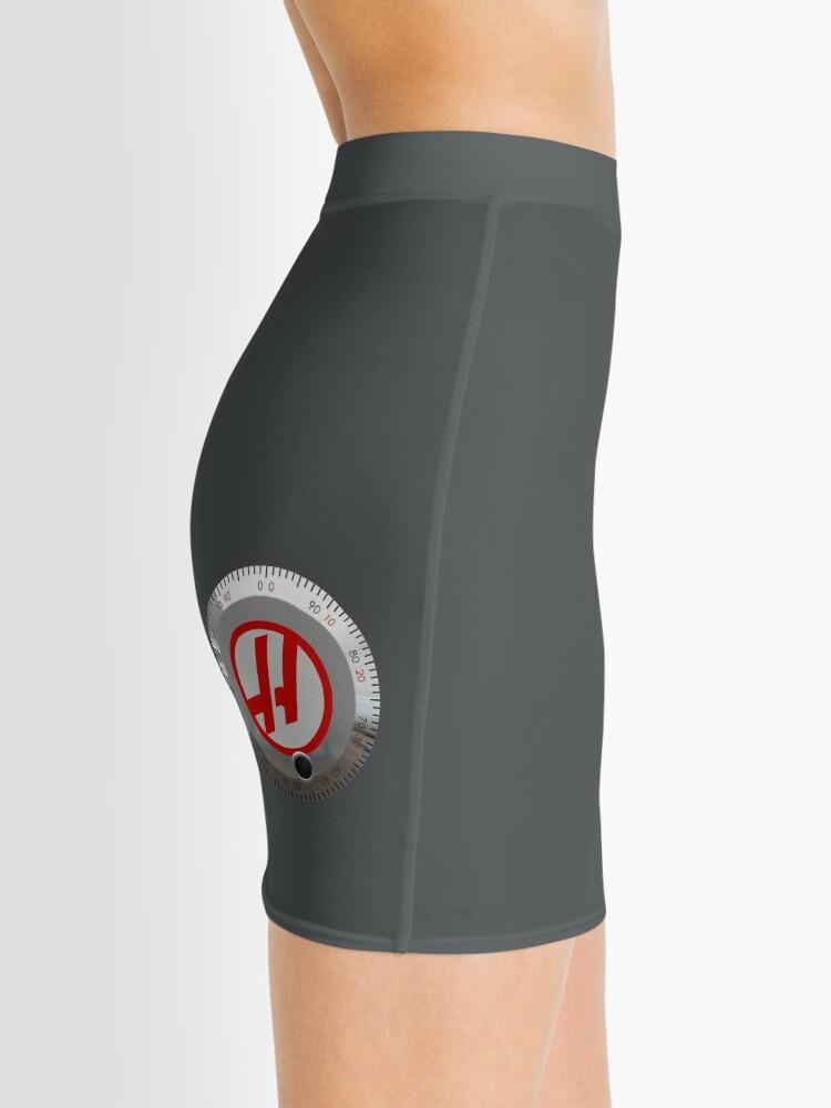 Alternate view of Haas Jog Handle Mini Skirt