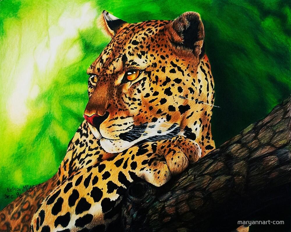 Jaguar by maryannart-com