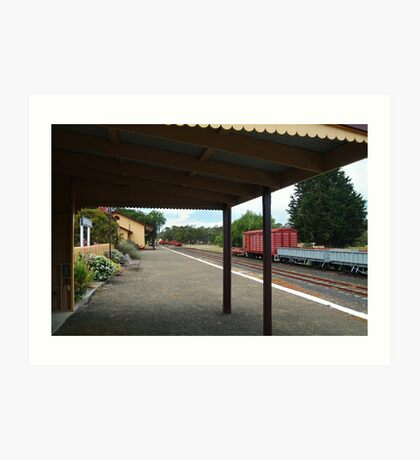 Historic Drysdale Railway Station,Bellarine Peninsula Art Print
