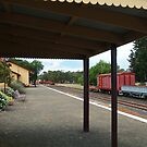 Historic Drysdale Railway Station,Bellarine Peninsula by Joe Mortelliti