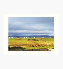 Enniscrone, Co Sligo, Ireland Art Print
