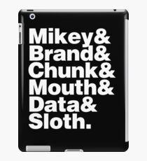 GOONIES & iPad Case/Skin