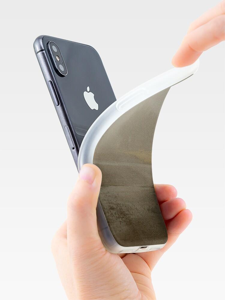 Vista alternativa de Funda y vinilo para iPhone Es una mañana nublada en el gueto