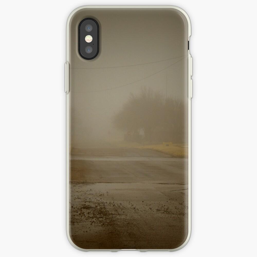 Es una mañana nublada en el gueto Funda y vinilo para iPhone