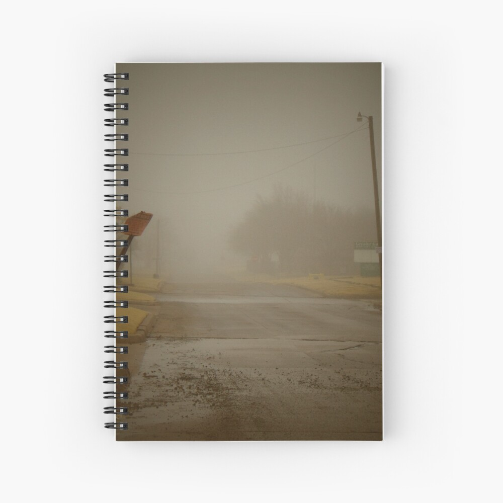 Es una mañana nublada en el gueto Cuaderno de espiral
