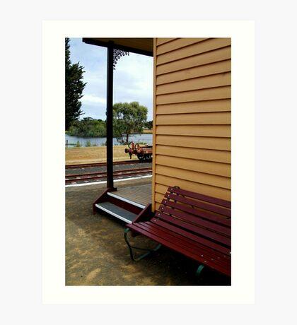 Historic Drysdale Railway Station Art Print