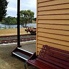 Historic Drysdale Railway Station by Joe Mortelliti