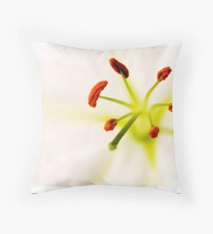 Lily Macro Throw Pillow