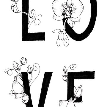 Love orchids by thealohastudios