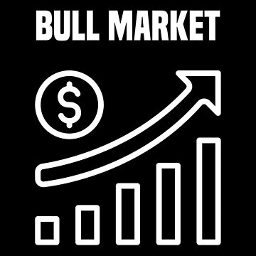 Bull market stock market share money profit return investment gift by Netsrikfa