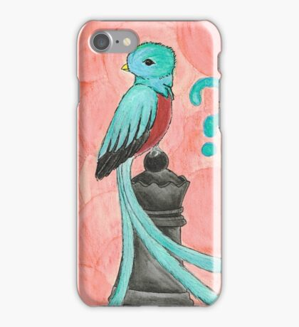 Q is for Quetzal iPhone Case/Skin
