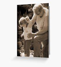 Tread Carefully my Little Precious Child Greeting Card