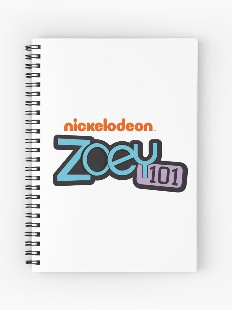 Zoey 101 Logo Vector Spiral Notebook