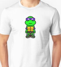 Purple Renaissance Turtle Unisex T-Shirt
