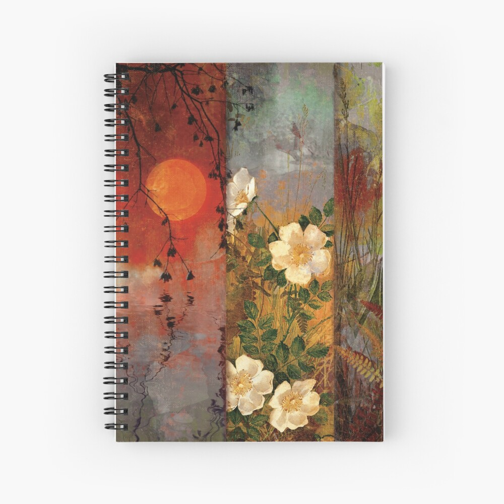 Whisper Forest Moon II Spiral Notebook