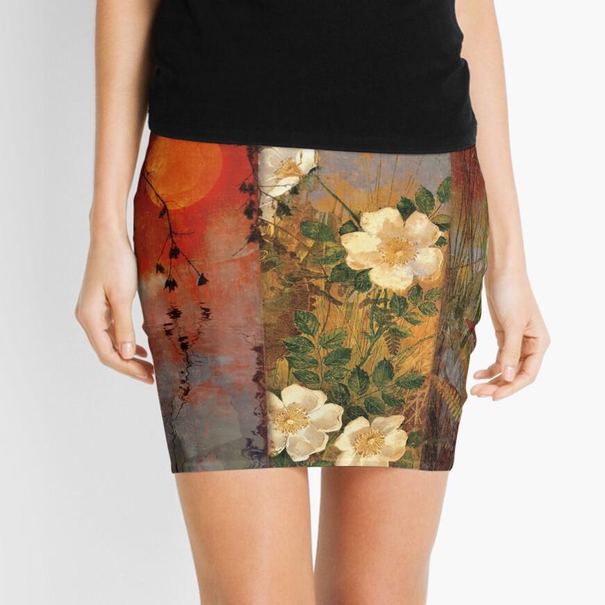 Whisper Forest Moon II Mini Skirt