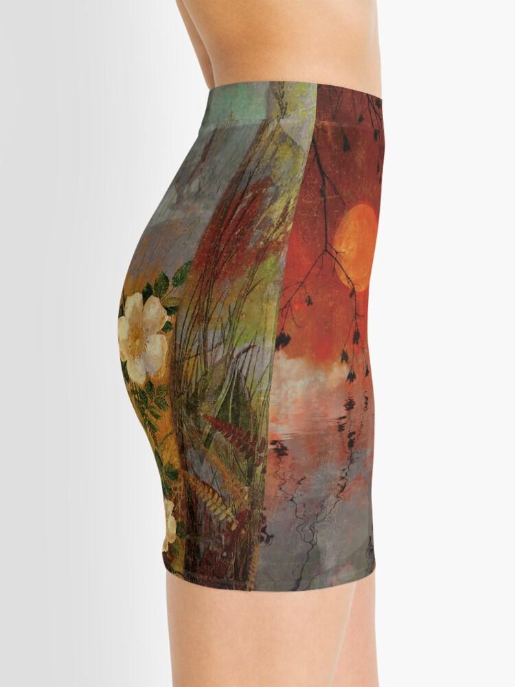 Alternate view of Whisper Forest Moon II Mini Skirt