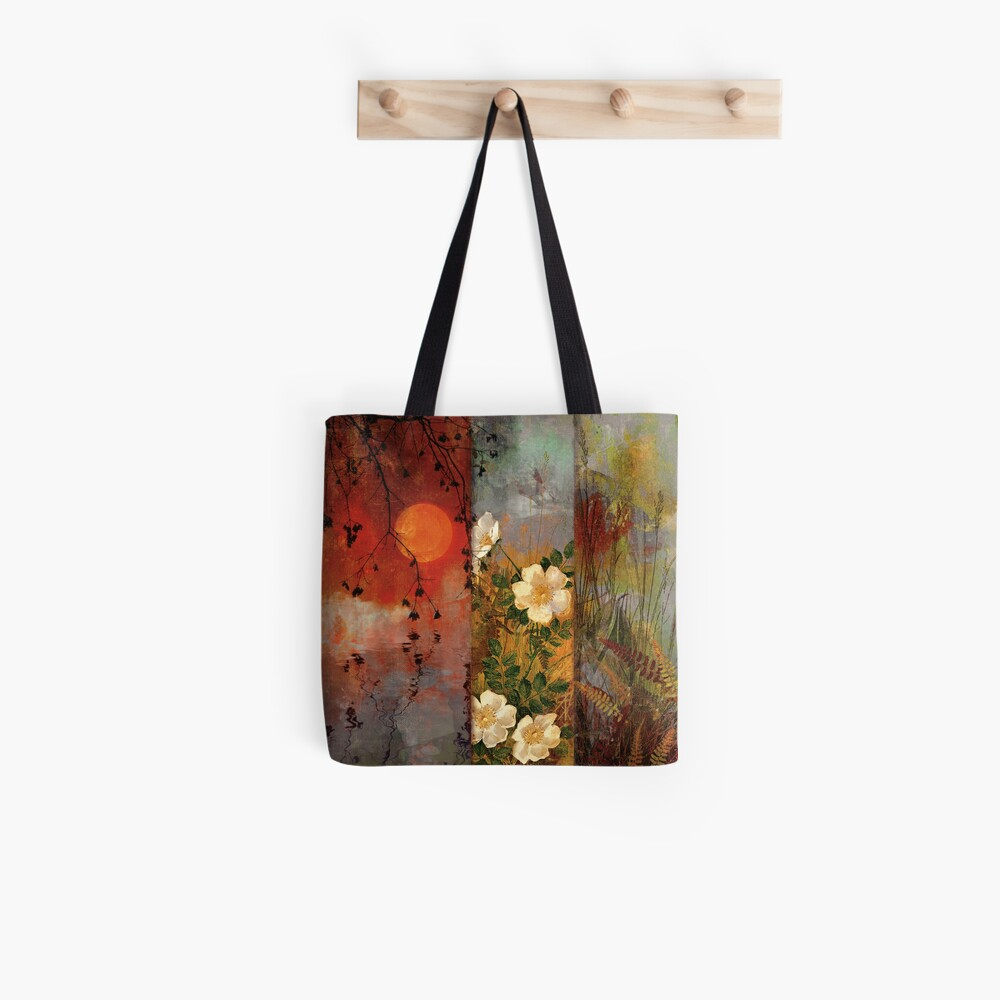 Whisper Forest Moon II Tote Bag