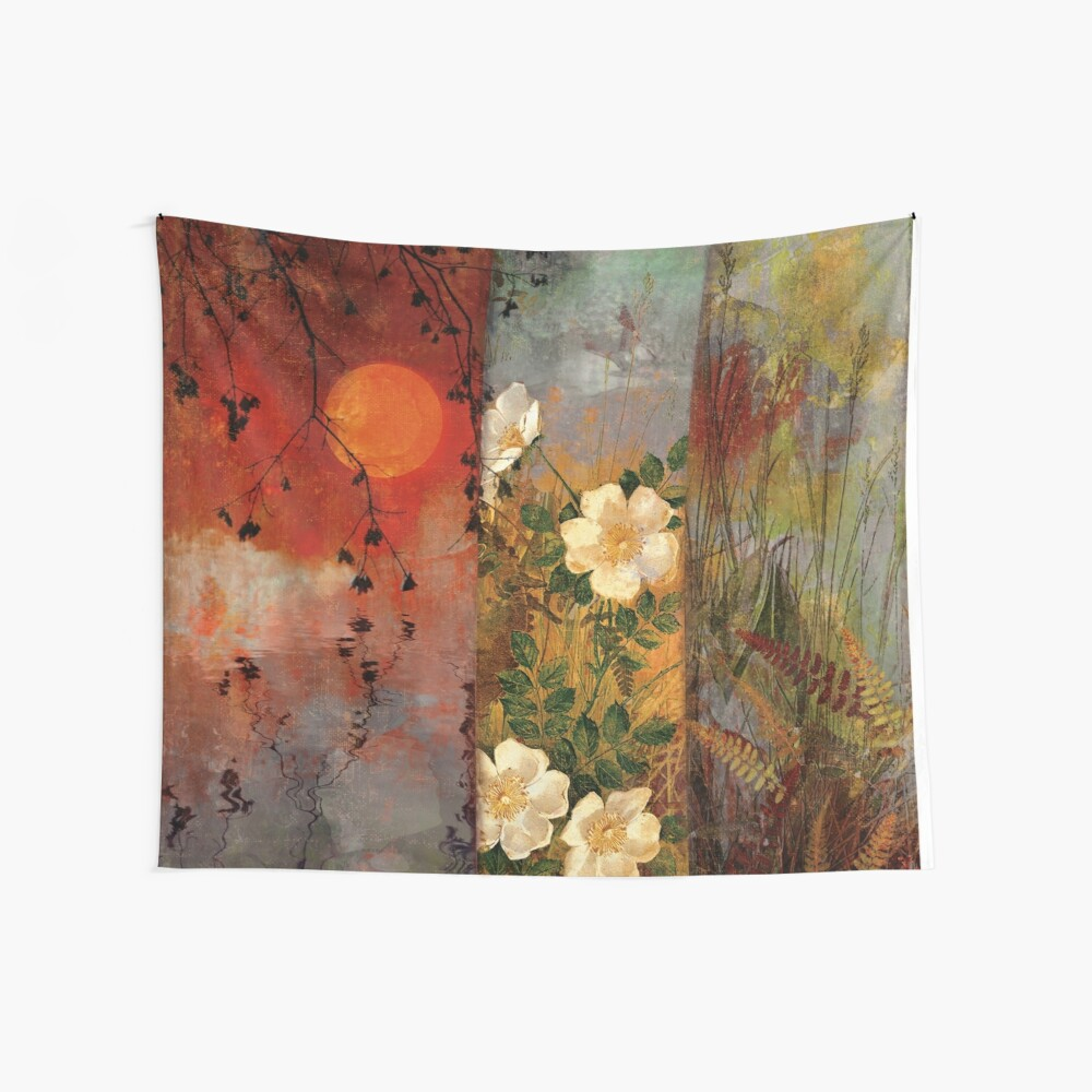 Whisper Forest Moon II Wall Tapestry