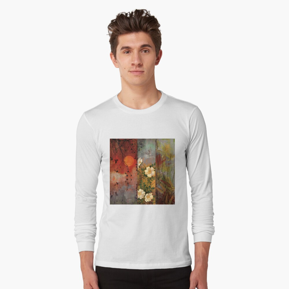 Whisper Forest Moon II Long Sleeve T-Shirt