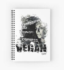 VeganChic ~ CEK Spiral Notebook
