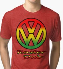 Raster dub Tri-blend T-Shirt