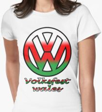 Volksfest wales Women's Fitted T-Shirt