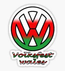 Volksfest wales Sticker